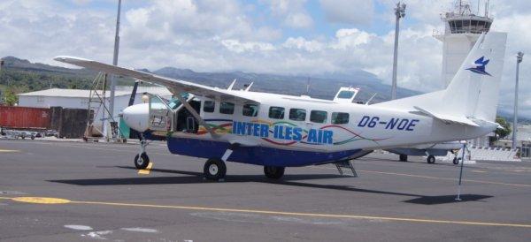 Transport aérien : un appareil d'Inter-Iles Air chassé à Mayotte